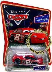 Disney / Pixar CARS Movie 1:55 Die Cast Car Series 2 Supercharged Dale Earnhardt Jr.