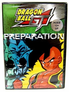 Dragon Ball GT DVD Volume 6 Preparation (UNCUT)