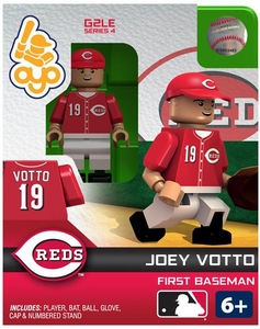 OYO Baseball MLB Generation 2 Building Brick Minifigure Joey Votto [Cincinnati Reds]