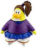 Disney Club Penguin 2 Inch Mini Figure Skater