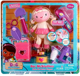 Disney Doc McStuffins Make Me Better Playset Lambie