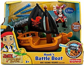 Disney Jake & the Never Land Pirates Hooks Battle Boat