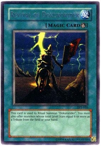 YuGiOh Tournament Pack 2 Single Card Rare TP2-010 Revival of Dokurorider