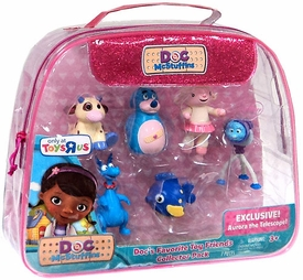 Disney Doc McStuffins Exclusive Figure 6-Pack Doc's Favorite Toy Friends [Lambie, Moo Moo, Boppy, Squeakers, Stuffy & Aurora]