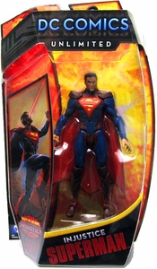 DC Comics Unlimited 6 Inch Series 3 Action Figure Superman [Injustice]