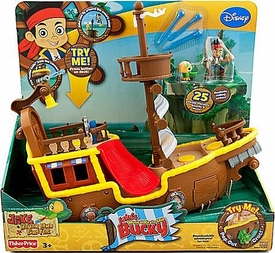 Disney Jake & the Never Land Pirates Jake's Musical Pirate Ship Bucky