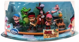 Disney Jake & the Never Land Pirates Exclusive 7-Piece PVC Figurine Playset