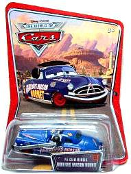 Disney / Pixar CARS Movie 1:55 Die Cast Car Pit Crew Member Hudson Hornet [Series 3 Package]
