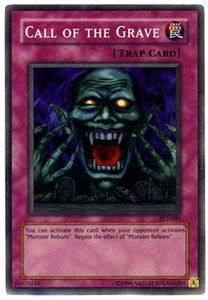 YuGiOh Tournament Pack 2 Single Card Super Rare TP2-005 Call of the Grave