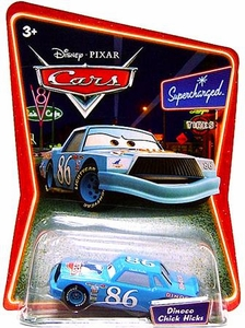 Disney / Pixar CARS Movie 1:55 Die Cast Car Series 2 Supercharged Dinoco Chick Hicks [Blue]
