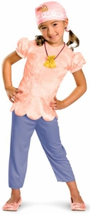 Jake and the Neverland Pirates Deluxe Child Costume #41751 Izzy [Toddler Medium 3-4T]