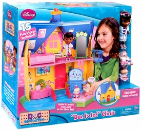 Disney Doc McStuffins Playset Doc is In! Clinic