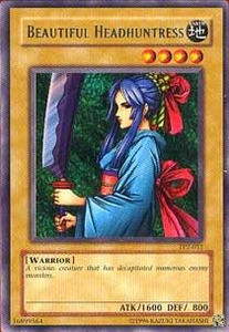 YuGiOh Tournament Pack 2 Single Card Rare TP2-011 Beautiful Headhuntress