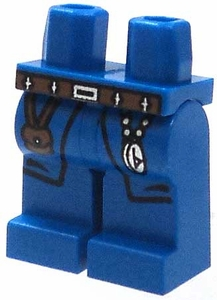 LEGO LOOSE Legs Royal Blue Hips & Legs with Brown Pouch & Compass BLOWOUT SALE!
