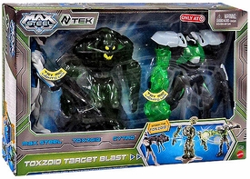 Max Steel Exclusive 6 Inch Action Figure 3-Pack Toxzoid Target Blast [Max Steel, Toxzoid & Cytro]