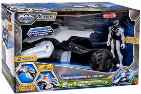 Max Steel Exclusive Vehicle & Figure Transforming Dune Jet [2 in 1 Transforming Vehicle]