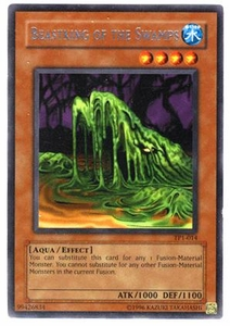 YuGiOh Tournament Pack 1 Single Card Rare TP1-014 Beastking of the Swamp