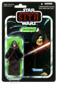 Star Wars 2010 Vintage Collection Action Figure #12 Darth Sidious [Revenge of the Sith]