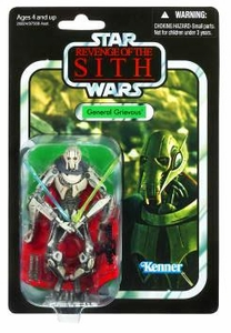 Star Wars 2010 Vintage Collection Action Figure #17 General Grievous