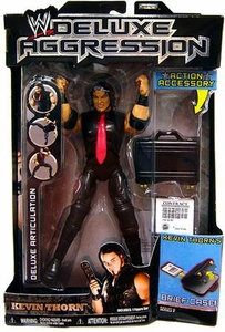 WWE Wrestling DELUXE Aggression Series 9 Action Figure Kevin Thorn