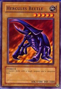 YuGiOh Tournament Pack 1 Single Card Common Hercules Beetle TP1-025