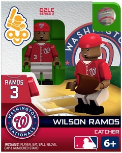 OYO Baseball MLB Generation 2 Building Brick Minifigure Wilson Ramos [Washington Nationals]