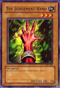 YuGiOh Tournament Pack 1 Single Card Common TP1-026 The Judgement Hand