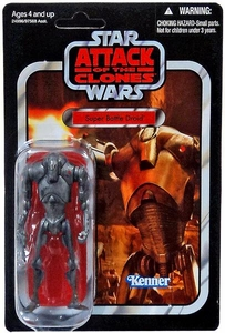 Star Wars 2010 Vintage Collection Action Figure #37 Super Battle Droid