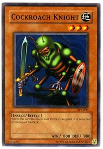 YuGiOh Tournament Pack 1 Single Card Common TP1-029 Cockroach Knight