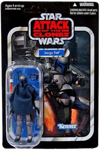Star Wars 2010 Vintage Collection Action Figure #34 Jango Fett