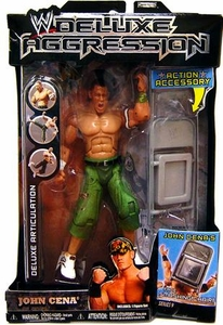 WWE Wrestling DELUXE Aggression Series 9 Action Figure John Cena