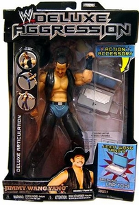 WWE Wrestling DELUXE Aggression Series 9 Action Figure Jimmy Wang Yang