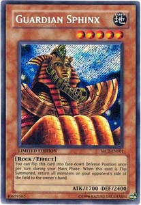 YuGiOh Master Collection 2 Single Card Secret Rare MC2-EN001 Guardian Sphinx
