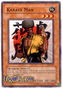 YuGiOh Tournament Pack Single Cards Season 4 TP4-013 Karate Man