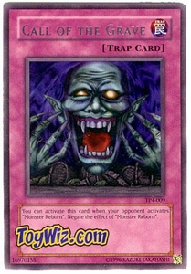 YuGiOh Tournament Pack Single Cards Season 4 Rare TP4-009 Call of the Grave