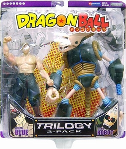 Dragon Ball Trilogy Action Figure 2-Pack General Blue & Pirate Robot