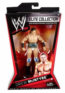 Mattel WWE Wrestling Elite Series 8 Action Figure Drew McIntyre