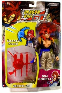 Dragonball GT Series 3 Action Figure SS4 Gogeta [Energy Flash]