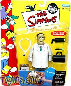 The Simpsons Series 6 Playmates Action Figure Dr. Julius Hibbert
