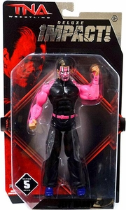 TNA Wrestling Deluxe Impact Series 5 Action Figure Jeff Hardy [Pink Face Paint!]