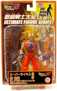 Dragon Ball Z Ultimate Figure Series 1 Super Poseable Action Figure Super Saiyan 3 Songokou