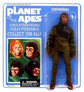 Diamond Select Planet of the Apes Series 1 Cloth Retro Action Figure Cornelius