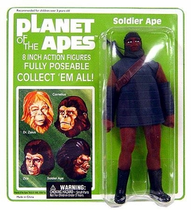 Diamond Select Planet of the Apes Series 1 Cloth Retro Action Figure Soldier Ape