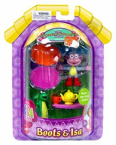 Dora the Explorer Mini Poseable Figure 2-Pack Boots & Isa