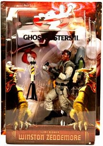 Mattel Ghostbusters II Exclusive 6 Inch Action Figure Winston Zeddemore with Slime Blower