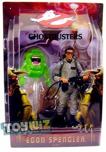 Mattel Ghostbusters 2009 SDCC San Diego Comic-Con Exclusive 6 Inch Action Figure Dr. Egon Spengler with Slimer