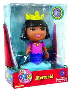 Dora the Explorer 5 Inch Semi-Poseable Figure Mermaid