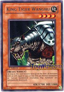 YuGiOh Pharaonic Guardian Single Card Rare PGD-004 King Tiger Wanghu