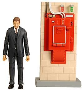 Mattel Ghostbusters Exclusive 6 Inch Action Figure Walter Peck with Contamination Unit