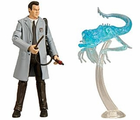 Mattel Ghostbusters Exclusive 6 Inch Action Figure Ray Stantz in Lab Coat with Subway Ghost